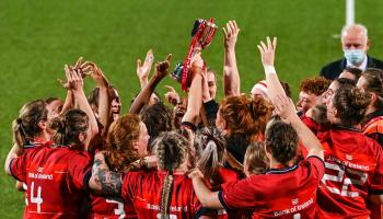 Munster Women's side regains interprovincial title with victory over Leinster