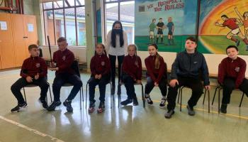 Limerick pupils starstruck following special visit to their school