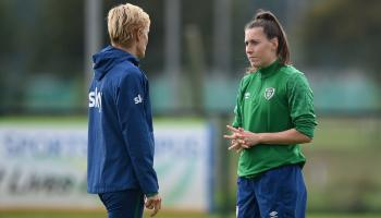 New striker cleared to play for Ireland Women's National Team