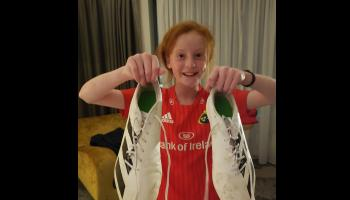 'Bootiful' gesture by Simon Zebo to young fan he never forgot
