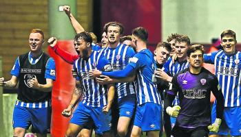 Treaty Utd can secure play-off spot with win at Shels' tonight