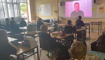 Bestselling British author astounds Limerick students