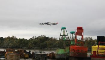 Fed Ex drone package delivery tested in Limerick
