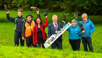 Put on your boots! Ballyhoura Walking Festival marks 25th anniversary this weekend