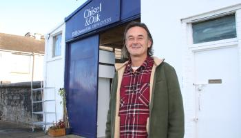 Limerick company 'chisels' out Men's Shed partnership