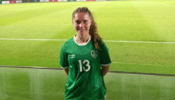 Rising soccer star Eve O'Sullivan vows to return strong after cruciate ligament injury