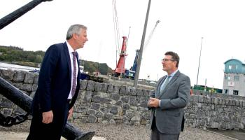 Influential supporter of green hydrogen embarks on fact-finding mission to Limerick port