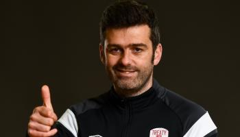 Treaty United manager Tommy Barrett says reaching promotion play-offs in 'massive' achievement