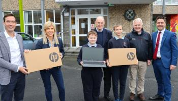 Pupils at Limerick school to benefit from donation of 'surplus' laptops