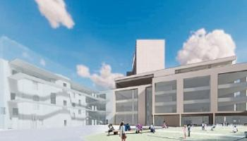 An architect's impression of the fresh plans for Project Opera, which were unveiled last week