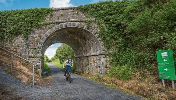A view of the Great Southern Greenway between Abbeyfeale and Templeglantine