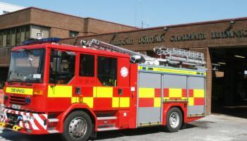 BREAKING: Limerick firefighters rescue woman from blaze