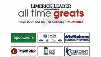 Limerick's All Time Great - the shortlist