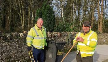 Clean sweep: Joe Lyons and Tony Kennedy