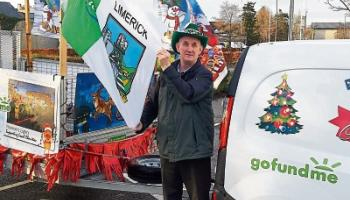 Noonan's lights shine again as mobile display travels across Limerick
