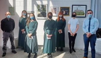 Limerick students' lockdown project turns into a work or art