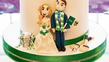 'Luimneach abú!' As couple say 'I do' with hurling-themed wedding cake