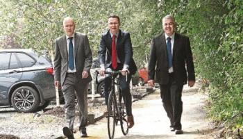Great Southern Trail in West Limerick becomes a 'Greenway'