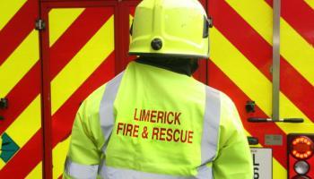 BREAKING: Firefighters tackle tyre blaze in Limerick