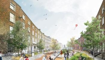 Limerick needs to focus on how it is designed. This visual was one of a number of designs for O'Connell Street drawn up by Mick Bradley in concert with John Moran during the #LiveableLimerick debate