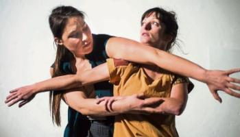 What Next: Oscillate featuring Lucia Kickham and Marion Cronin, one of the works for Dance Limerick's new festival, taking place from February 9-10 Picture: Abigail Denniston