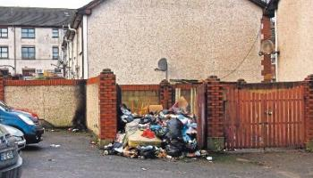 Random dumping of rubbish, anti-social behaviour, bonfires on winter nights - just three of the problems afflicting Johnsgate, an area launched with such hope and ambition in 1990