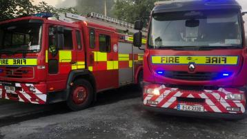 Joint effort puts out County Limerick fire