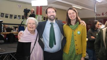 BREAKING: Brian Leddin makes history becoming Limerick's first ever Green Party TD