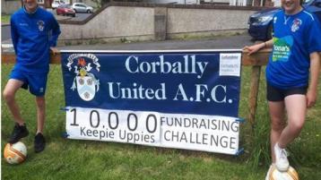 Limerick club duo take on 'keepie uppie' challenge