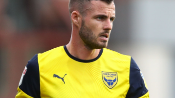 Limerick's Anthony Forde on the promotion trail with Oxford Utd