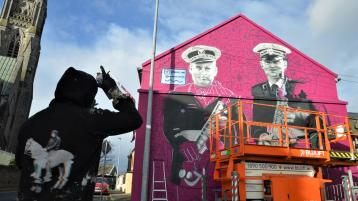Draw Out unveils latest commemorative mural in Limerick