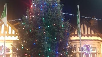 Limerick village shines brightly as traditional Christmas Tree takes centre stage