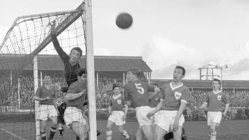 SLIDESHOW: Limerick v Waterford, League of Ireland, Markets Field, 1960