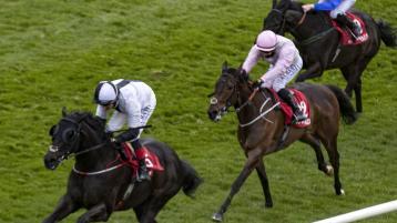 Limerick jockeys visit the winners' enclosure
