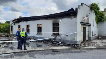 WATCH: Suspected arson attack at Limerick garage is condemned