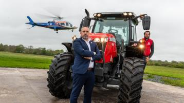 Limerick farms are ideal to land a helicopter but not an air ambulance, stresses new campaign