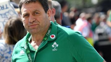 WATCH: IRFUs David Nucifora: 'Covid-19 has hurt rugby clubs, players and their development'