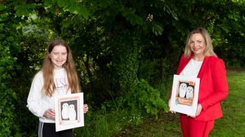 Draw with Don! Talented Limerick girl receives special watercolour from legendary artist