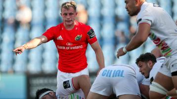 Munster Rugby end season with xxx over Zebre in Parma