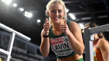 Limerick's Sarah Lavin takes giant step towards realising Olympic dream