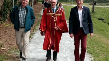 New community walking track opens at a Limerick GAA club