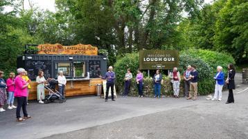 Information kiosk officially opens at Limerick beauty spot