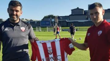 High-flying Treaty United bolster squad with second signing