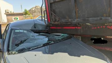 Limerick motorist's lucky escape near NCT centre