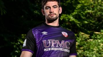Treaty Utd's 'keeper Tadhg Ryan launches SSE Airtricity Common Goal initiative