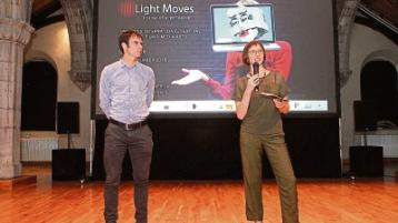 Jurgen Simpson and Mary Wycherley, founders and curators of the Light Moves festival of screendance, launching the festival Picture: Dave Gaynor