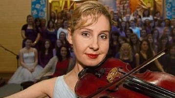 Violinist Anne Phelan will perform at the event