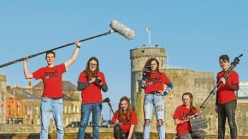Young film making stars of the future flocked to the Belltable this week
