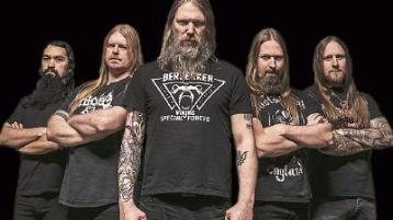 Sweden's Amon Amarth, pictured, will team up with Poland's Behemoth for the very special outdoor show at King John's Castle this summer