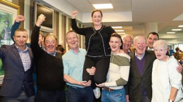 Limerick elections: Jubilation as Bridie wins seat for FF in Adare Rathkeale